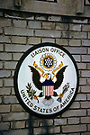 USA Liaison Office Sign