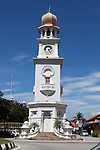 Malaysia, Pulau Penang, Georgetown: The Queen Victoria Diamond Jubilee clocktower | Malaysia, Pulau Penang, Georgetown: The Queen Victoria Diamond Jubilee Uhrturm