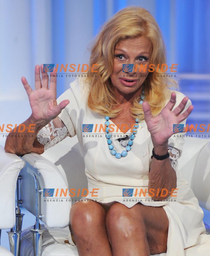 Sandra Milo.Roma 18/05/2010 .TV Porta a Porta .Foto Gb / Insidefoto