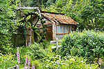 Dalby Water Wheel, on Dalby Creek, next to Hood Canal, near Union, Washington, was first built to provide hydroelectric power to nearby properties.