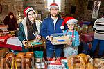 Marek and Julia Kurdziel and Anna Maria Diana enjoying the Farmers Christmas Market in Miltown on Saturday morning.
