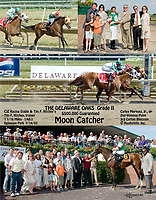 """Moon Catcher wining The grade 2 2007 Delaware Oaks<br /> to see more versions of this search """"Moon Catcher, winphoto, special request"""""""