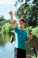 Fishing with Grandma Connie and Grandpa Jack