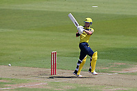 D'Arcy Short in batting action for Hampshire during Hampshire Hawks vs Essex Eagles, Vitality Blast T20 Cricket at The Ageas Bowl on 16th July 2021
