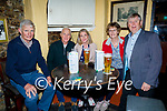 Enjoying the evening in Sean Og's on Saturday, l to r: Seamus and Colm Ó Suilleabhain, Sorcha Ní Shuilleabhain, Fionnuala Ní Shuilleabhain and Cristor O'Suilleabhain (Tralee and Chorca Dhuibhne)