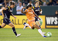 Sky Blue forward Rosana takes a shot on goal. The LA Sol defeated Sky Blue FC 1-0 at Home Depot Center stadium in Carson, California on Friday May 15, 2009.   .