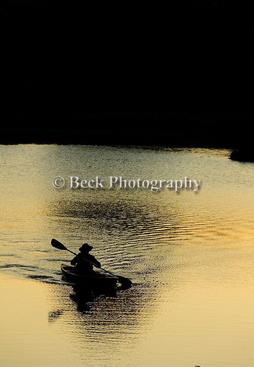 Last light on Lake Jean, PA