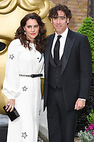 Stephen Mangan and wife<br /> at the BAFTA Craft Awards 2017 held at The Brewery, London. <br /> <br /> <br /> ©Ash Knotek  D3255  23/04/2017