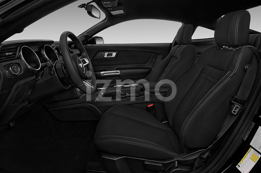 Front seat view of a 2018 Ford Mustang EcoBoost 2 Door Coupe front seat car photos