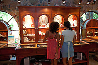 Shoppers at Mongoose Junction.Cruz Bay, St John.U.S. Virgin Islands