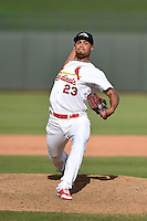Peoria Javelinas pitcher Sam Tuivailala (23) during an Arizona Fall League game against the Mesa Solar Sox on October 15, 2014 at Surprise Stadium in Surprise, Arizona.  Mesa defeated Peoria 5-2.  (Mike Janes/Four Seam Images)