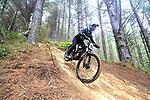 Round 1 of the New Zealand Downhill Mountainbiking National Series, 440 Mountainbike Park, Auckland, New Zealand, Sunday January 2021. Photo: Simon Watts/www.bwmedia.co.nz/SwimmingNZ