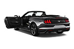 Car images close up view of a 2020 Ford Mustang EcoBoost 2 Door Convertible doors
