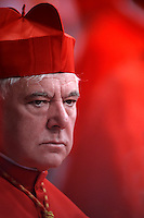 Cardinal Gerhard Ludwig Müller. Pope Francis, during a consistory at Peter's basilica. Pope Francis has named 17 new cardinals, on November 19, 2016