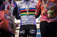 medals<br /> <br /> Women Elite Race<br /> UCI CX Worlds 2018<br /> Valkenburg - The Netherlands