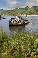 Captains Bay, UnAlaska, Dutch Harbor, Aleutian Islands, Alaska