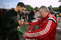 Pictured: Borja Baston Wednesday 18 May 2017<br />Re: Swansea City FC, Player of the Year Awards at the Liberty Stadium, Wales, UK.