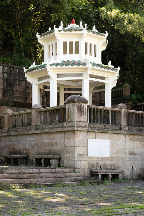 The Race Course Fire Memorial, built in 1922, following a horrific fire at the Happy Valley Racecourse on 26 February 1918 which claimed more than 600 lives.