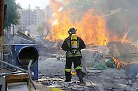 -  Milano, sgombero del centro sociale ZAM nel quartiere Barona <br /> <br /> - Milan, evacuation of ZAM social center in the Barona district