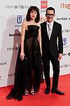 Cecilia Suarez and director Manolo Caro attends to XXV Forque Awards at Palacio Municipal de Congresos in Madrid, Spain. January 11, 2020. (ALTERPHOTOS/A. Perez Meca)