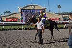 AUG 23,2014:Big John B,ridden by Mike Smith,wins the Del Mar Handicap at Del Mar in Del Mar,CA. Kazushi Ishida/ESW/CSM