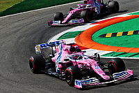 4th September 2020; Autodromo Nazionale Monza, Monza, Italy ; Formula 1 Grand Prix of Italy, free practise sessions;  11 Sergio Perez MEX, BWT Racing Point F1 Team