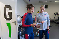 Lisbon, Portugal - November 3, 2018:  The USWNT trains in preparation for an international friendly against Portugal.