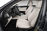 Front seat view of a 2019 Genesis G70  Prestige 4 Door Sedan front seat car photos