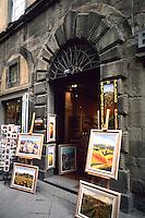 Gallery in small village Cortona Mian centre of town featured in movie Under The Tuscan Su