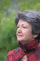Geneviève Ponson Mas de Perry, Mas Nicot. Terrasses de Larzac. Languedoc. Owner winemaker. France. Europe.