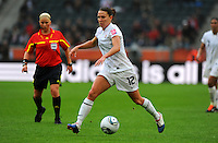 Lauren Cheney of team USA during the FIFA Women's World Cup at the FIFA Stadium in Moenchengladbach, Germany on July 13th, 2011.