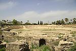 Israel, the Roman amphitheater in Beth Shean