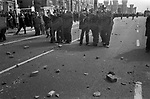 ANTI NAZI LEAGUE RIOTS LEICESTER 1970S