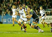 Photo: Richard Lane/Richard Lane Photography. Connacht v Wasps.  European Rugby Champions Cup. 17/12/2016. Wasps' Thomas Young attacks.