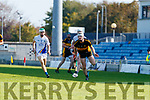 Mike Milner Captain, Dr. Crokes during the Kerry County Intermediate Hurling Championship Final match between Dr Crokes and Tralee Parnell's at Austin Stack Park in Tralee
