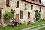 Germany; Free State of Thuringia, Breitungen: manor building of former castle Herrenbreitungen   Deutschland, Thueringen, Breitungen: Gutsgebaeude des ehemaligen Schlosses Herrenbreitungen