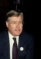 Le ministre des finances du canada Michael Wilson en octobre 1992 au <br /> Bonaventure, Hilton<br /> <br /> PHOTO : Agence Quebec Presse