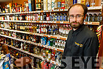 William Dillon in his off licence in Listowel