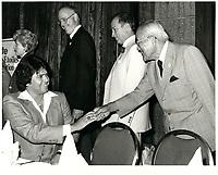 Pierre Trudeau , 13 Juillet 1982 <br /> <br /> <br /> PHOTO : agence quebec presse