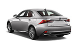 Car pictures of rear three quarter view of 2017 Lexus IS F-Sport-Line 4 Door Sedan Angular Rear