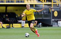 16th May 2020, Signal Iduna Park, Dortmund, Germany; Bundesliga football, Borussia Dortmund versus FC Schalke;  Erling HAALAND, BVB breaks forward on the ball
