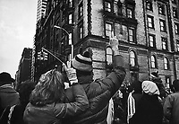 FILE PHOTO -  New-York, Hommage to Jonh Lennon after his murder.<br /> <br /> On Monday, December 8, 1980, Lennon was shot dead by Mark David Chapman in the archway of the Dakota, his residence in New York City<br /> <br /> PHOTO :  Andre Boucher - Agence quebec Presse<br /> <br /> HI RES Sur demande - aucune restriction