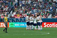 DENVER, CO - JUNE 6: USMNT during a game between Mexico and USMNT at Mile High on June 6, 2021 in Denver, Colorado.