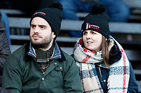 Blackheath Rugby fans await kick off during the English National League match between Richmond and Blackheath  at Richmond Athletic Ground, Richmond, United Kingdom on 4 January 2020. Photo by Carlton Myrie.