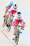 The team of Russia with Kirill Samusenko, Aleksei Tkachev and Pavel Yakushevskiy compete in Men's Team Sprint - Qualifying match as part of the 2017 UCI Track Cycling World Championships on 12 April 2017, in Hong Kong Velodrome, Hong Kong, China. Photo by Victor Fraile / Power Sport Images