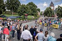 peloton rolling through Heist-op-den-Berg<br /> <br /> Heylen Vastgoed Heistse Pijl 2021 (BEL)<br /> One day race from Vosselaar to Heist-op-den-Berg (BEL/193km)<br /> <br /> ©kramon
