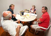 17-06-10, Tennis, Rosmalen, Unicef Open,  KNLTB Lounge.