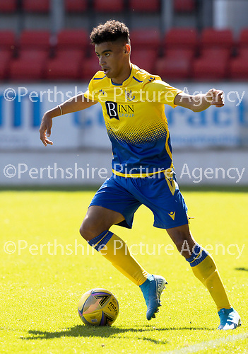 St Johnstone FC…..<br />Michael McFarlane<br />Picture by Graeme Hart.<br />Copyright Perthshire Picture Agency<br />Tel: 01738 623350  Mobile: 07990 594431