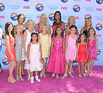 Dance moms with their daughters at FOX's 2012 Teen Choice Awards held at The Gibson Ampitheatre in Universal City, California on July 22,2012                                                                               © 2012 Hollywood Press Agency
