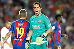 FC Barcelona's Claudio Bravo during Supercup of Spain 2nd match.August 17,2016. (ALTERPHOTOS/Acero)